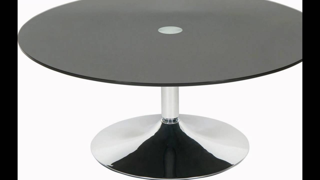 Delicieux Black Glass Table
