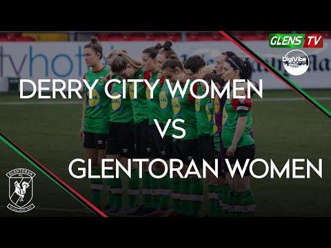 Derry City vs Glentoran Women - 24th April 2019