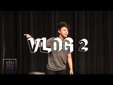 Vlog / Day at Theater Competition with my school!