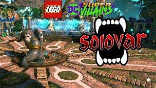 LEGO DC Super Villains Solovar Boss Battle (Gorilla City Level)
