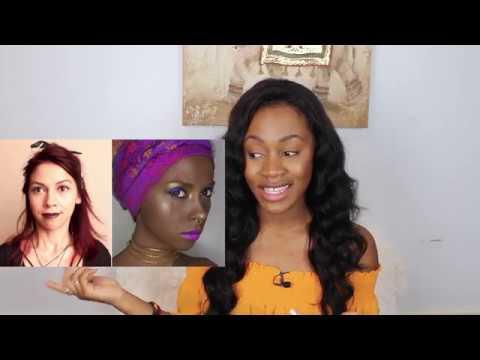 "Makeup Artist Dragged For ""Slave"" Halloween Tutorial"