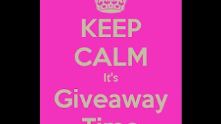 giveaway time giveaway closed