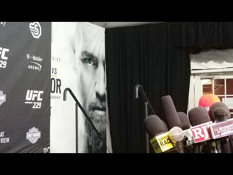 UFC 229 POST FIGHT INTERVIEW: DERRICK LEWIS