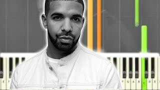 ♬ Learn how to play DRAKE PIANO CHORDS (EASY PIANO SONGS) Synthesia Piano Tutorial C MINOR ♬