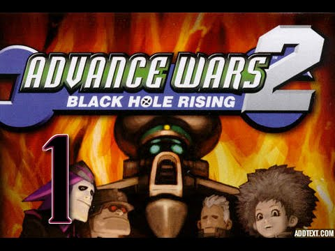 """Part 1: Let's Play Advance Wars 2, Hard Campaign - """"Flak Attack"""""""