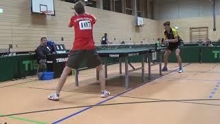 Hegenberger Hilpoltstein vs Haider 2 Bayer  Jugendm  Ansbach 20181208 Table Tennis Zoom  7
