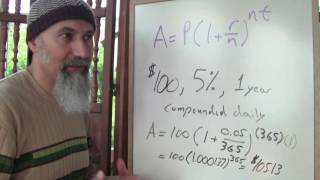 ASMR Math: How Interest Rates Affect Our Society, Differential Accumulation, Exponential Growth