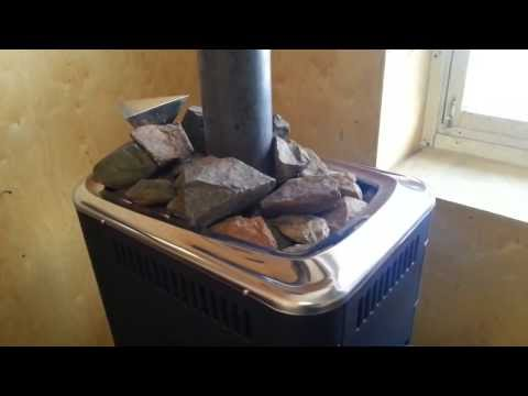 Банная печь Гейзер 2014 на базе печи Ангара 2012