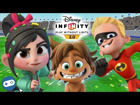 Vanellope Spot And Dash Disney Infinity 3.0 Toy Box Fun Gameplay