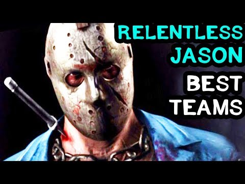 Best Relentless Jason Teams in MKX Mobile. Mortal Kombat X Mobile LIVE Stream.
