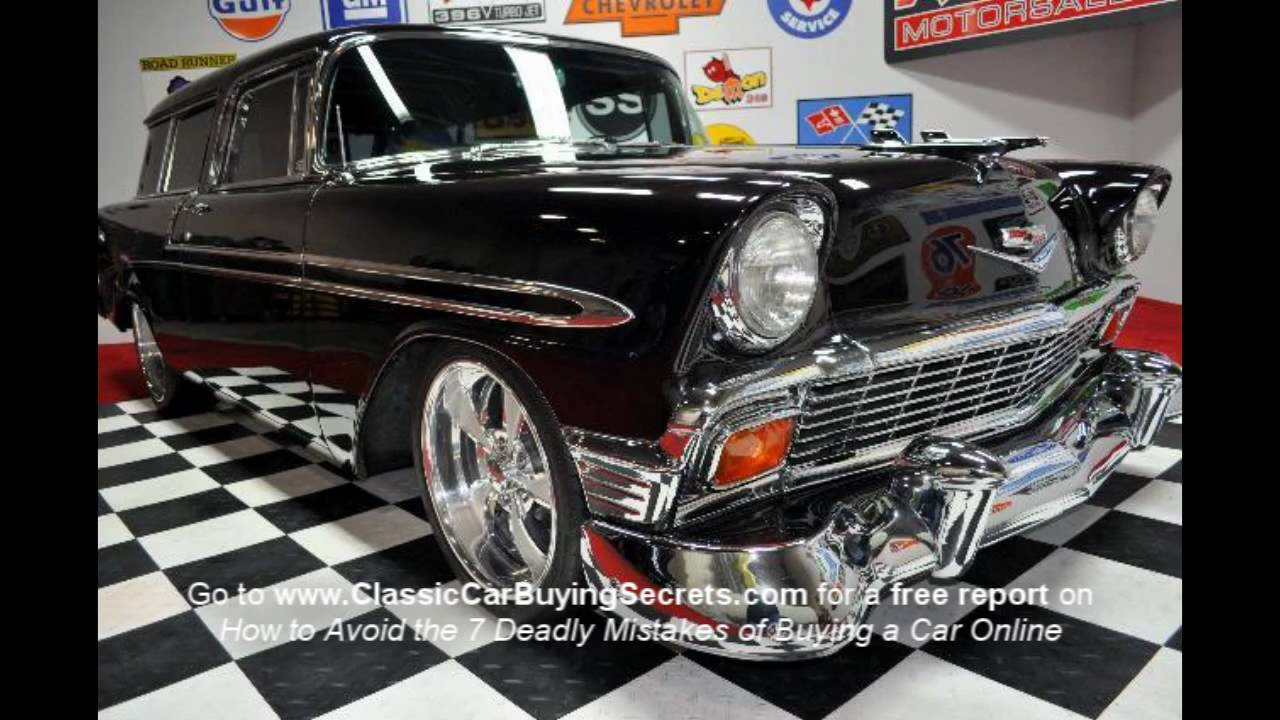 1956 Chevy Nomad V8 Classic Muscle Car for Sale in MI Vanguard ...