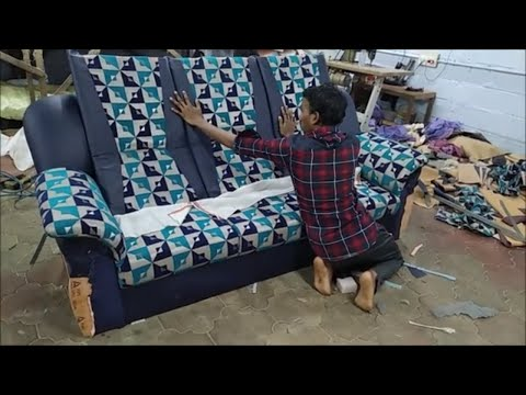 How to make Sofa Set step by step | Sofa making video | Import Model Sofa Making | Couch Making