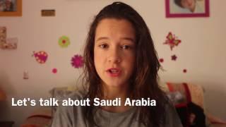 lets talk about saudi arabia