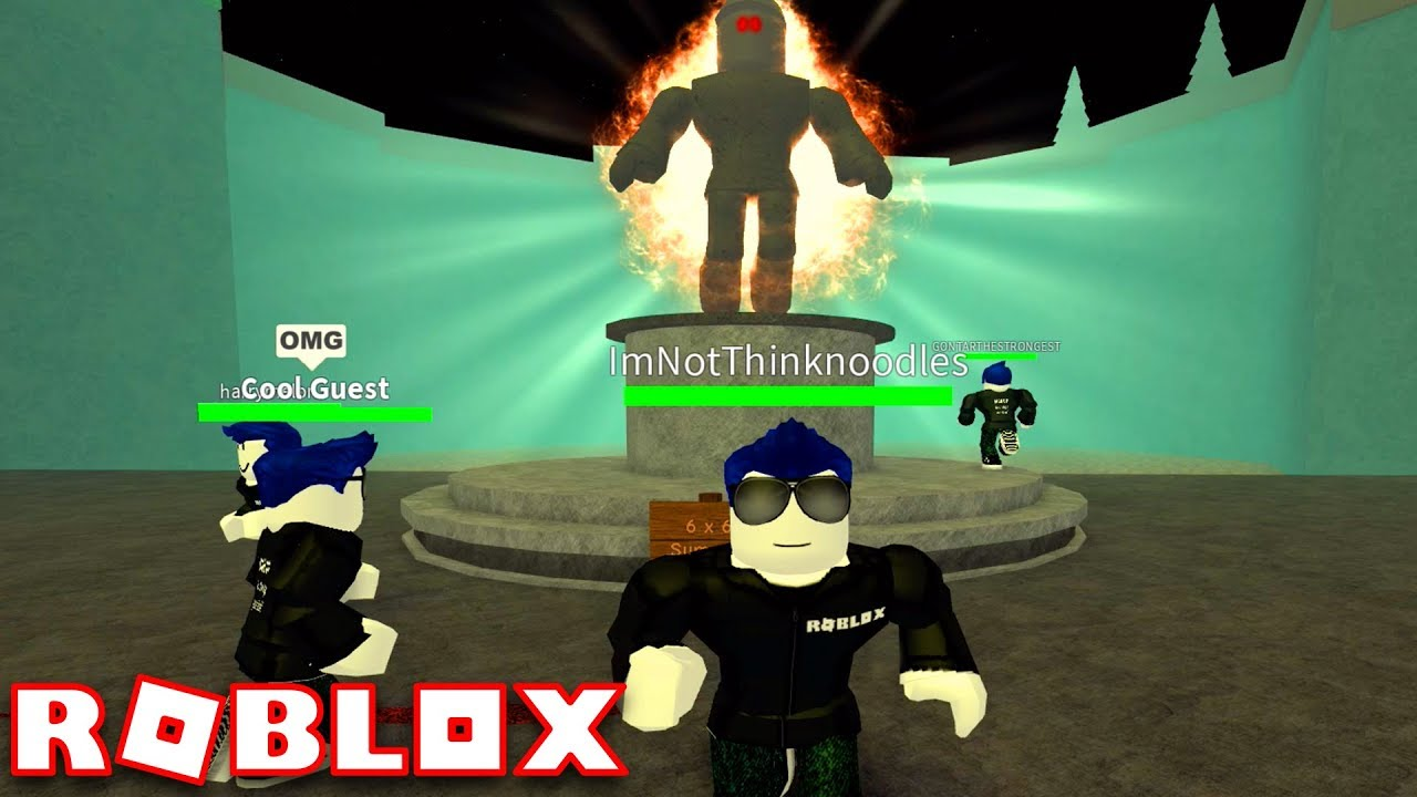 Guest 666 Boss Fight Guest World Roblox Youtube