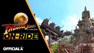 On-ride – Indiana Jones et le Temple du Péril – version complète – Disneyland Paris 🎢