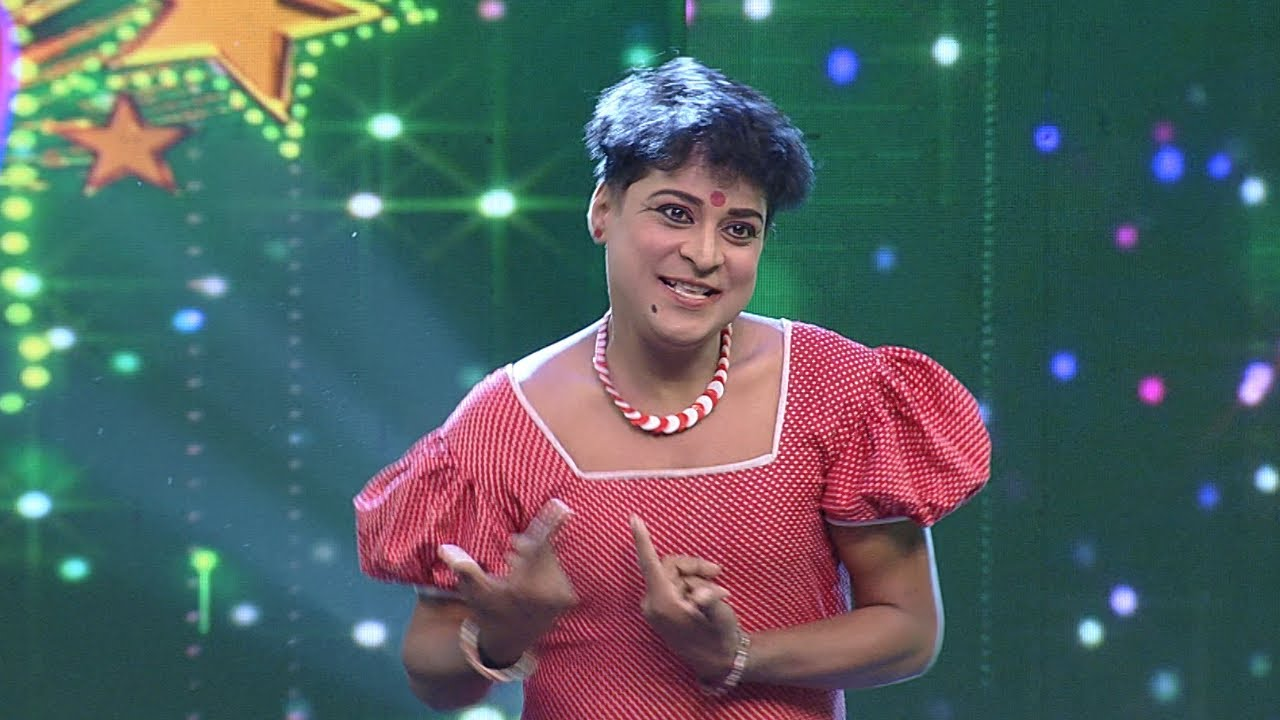 Thakarppan Comedy I Thakarppan performance by Avvai Santhosh. I Mazhavil Manorama