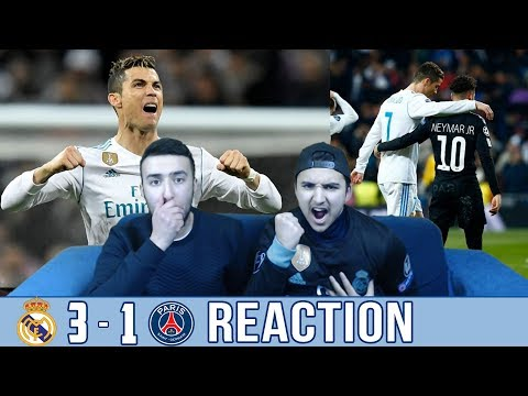 BARÇA FAN REACTS TO: REAL MADRID 3-1 WIN OVER PSG - REACTION