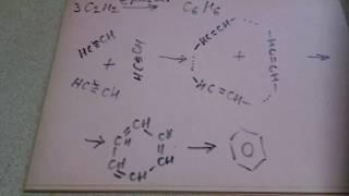 тримеризация ацетилена получение бензола из ацетилена