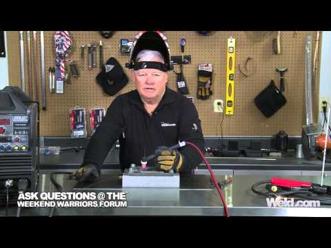 The Difference Between DCEN and DCEP | TIG Time