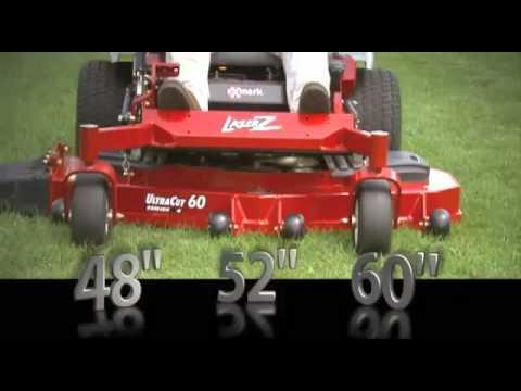 Exmark Lazer Z E-Series - YouTube