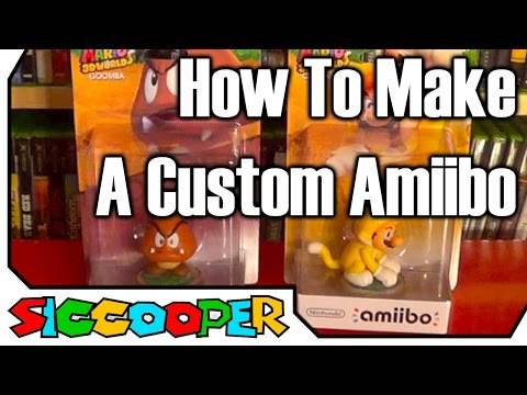 Tutorial: How To Make A Custom Amiibo | SicCooper
