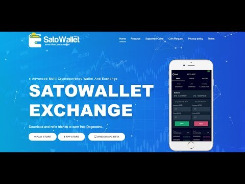 How To Set Up An Account, Send And Recieve Bitcoin Gold (BTG) On SatoWallet