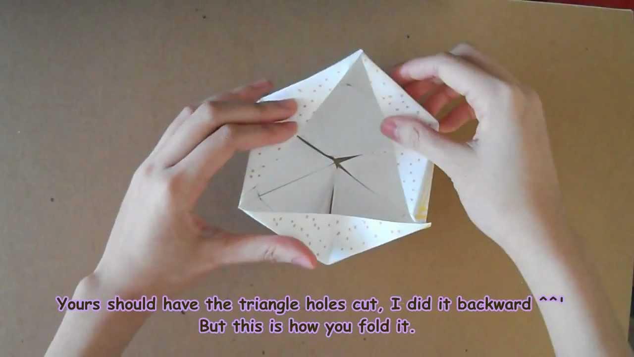 DP Making Paper Toy