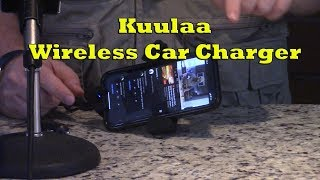 Kuulaa Wireless Car Charger Review