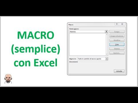 Come fare una Macro su Excel | Smartando.it