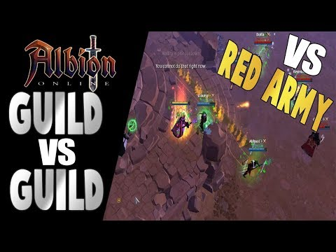 Albion Online   GvG Battle   SUN vs Red Army