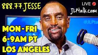 Tue, Mar 19: Jesse LIVE 6-9am PT (Los Angeles), Call-in: 888-77-JESSE