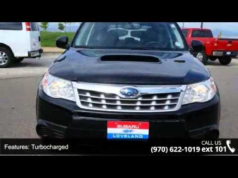 2011 Subaru Forester 25xt Premium Subaru Of Loveland Youtube