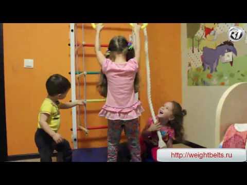 Первые шаги складной. Домашний спортивный комплекс. Шведская стенка.из YouTube · Длительность: 4 мин25 с
