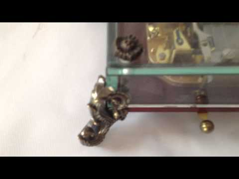REUGE MUSIC BOX ROMANCE 36 NOTE, SONG UNCHAIN MELODY