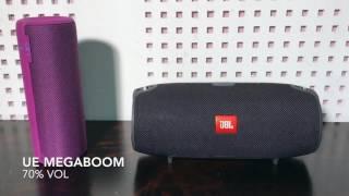 Ue Megaboom vs Jbl Xtreme Soundcheck