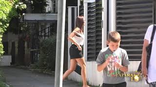 Aleksandra Prijovic porodicno sa sinom i suprugom (Paparazzo lov 02.09.2020.)