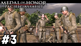 WELCOME TO GUADALCANAL | Medal of Honor: Pacific Assault Campaign Walkthrough #3