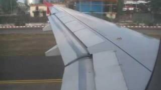 Kingfisher airlines landing at Chennai Airport