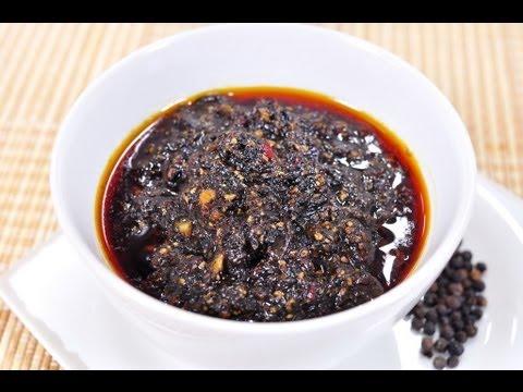 ซอสพริกไทยดำ