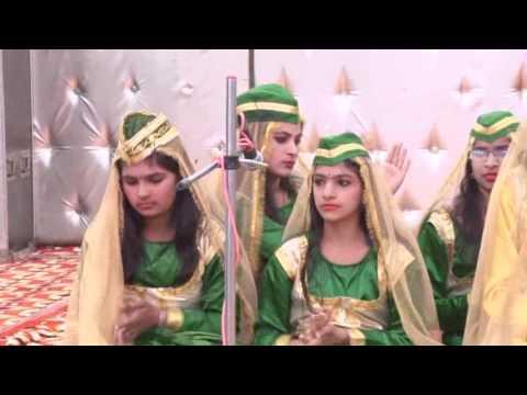 Motivational Qawwali by the students of Arya Model School,  Madina (Rohtak)