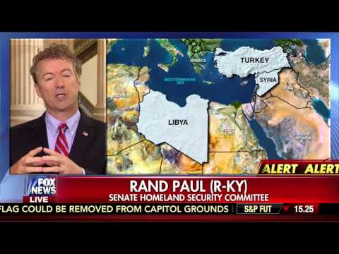 Sen. Paul Discusses Weapons Transfer with Bill Hemmer on Fox News- July 8, 2015