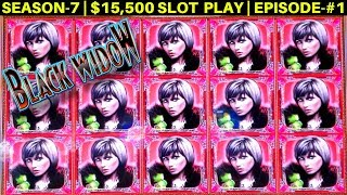 Black Widow Slot Machine FULL SCREEN Big Win | MEGA VAULT SLOT Max Bet Bonus | SEASON-7 | EPISODE #2