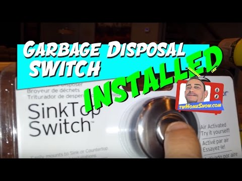 vote no on garbage disposal wiring and installation disposal wiring diagram sink top garbage disposal switch easy diy project