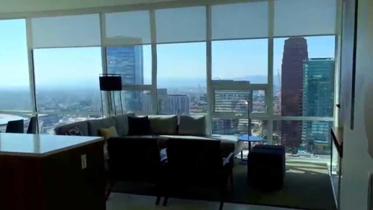 level downtown los angeles for lease short term furnished apartment