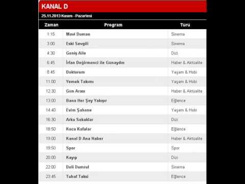 25 Aralık Pazartesi Tv Yayın Akışı, Atv Kanal d Show Tv Star tv