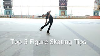 Top Five Figure-Skating tips from Renaissance College's Nicole Chan