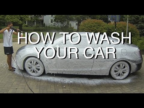 DIY: Foam Cannon Your Car Properly (Pre-Rinse)
