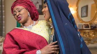 JUST IN- Sadia finally takes over as First Lady after defeating Aisha Buhari to take the Crown (See