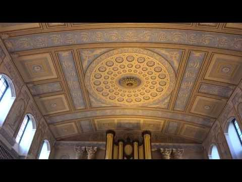 The Chapel at the Old Royal Naval College Greenwich in 4K