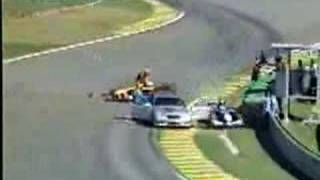 2002 Heidfeld hit Medical car